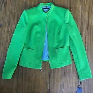 Tommy Hilfiger spring suit jacket green
